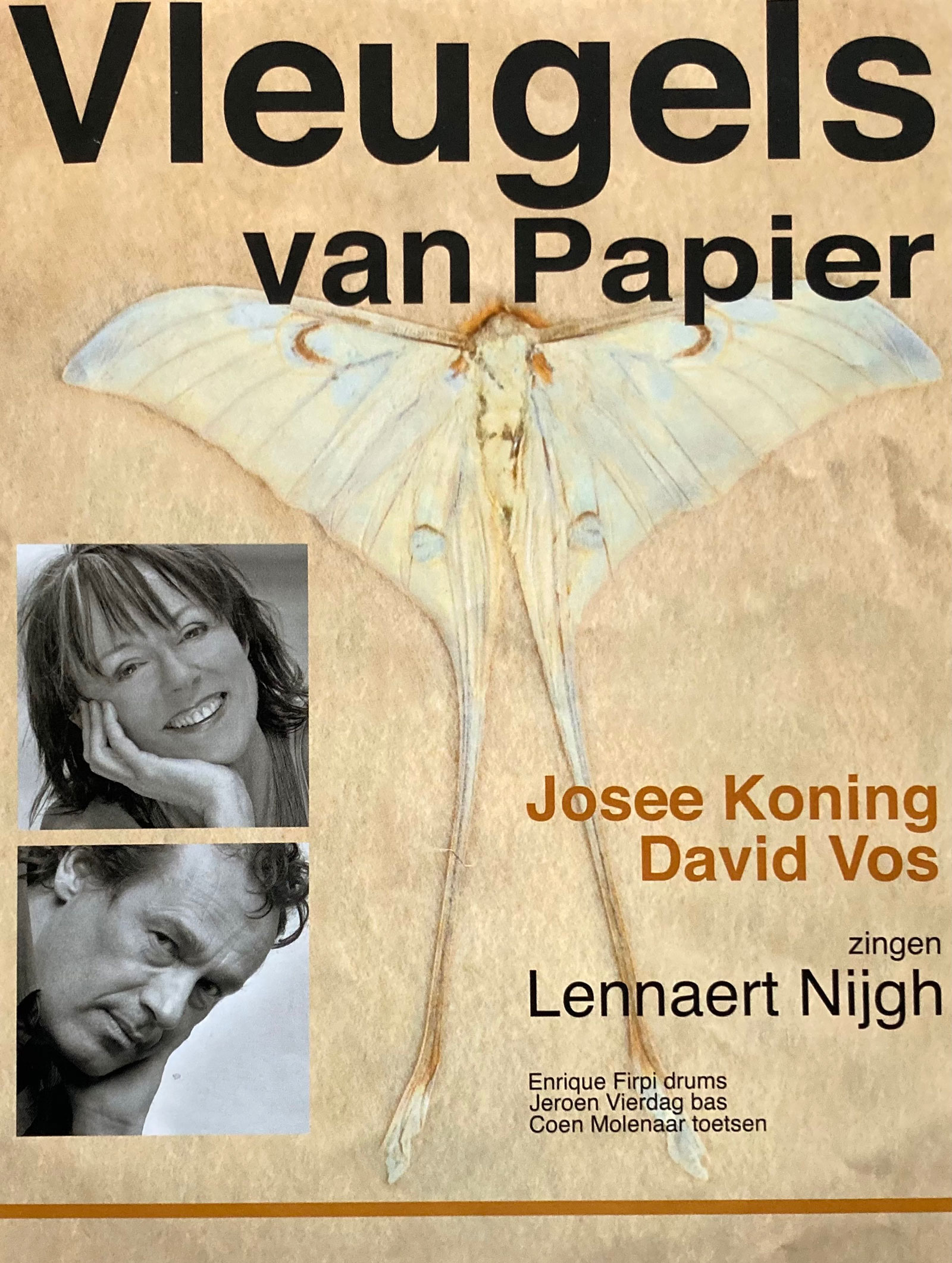David Vos en Josee Koning: Vleugels van Papier